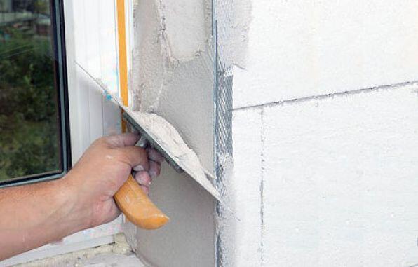 Как сделать откосы на окнах из штукатурки своими руками
